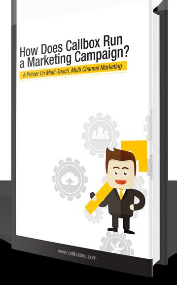 Callbox Multi Channel Marketing Campaign
